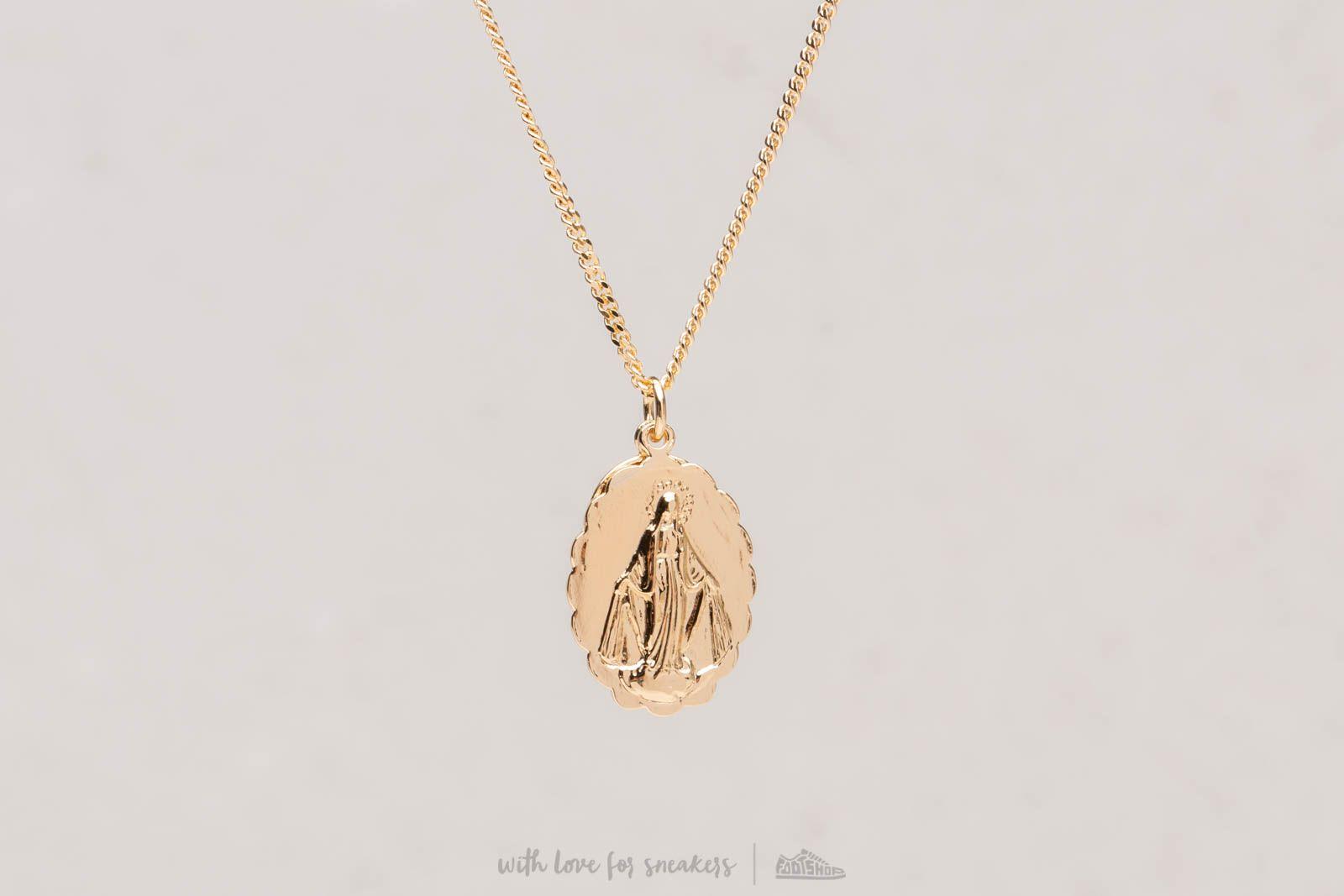 Miansai Mini Saint Necklace Gold Vermeil