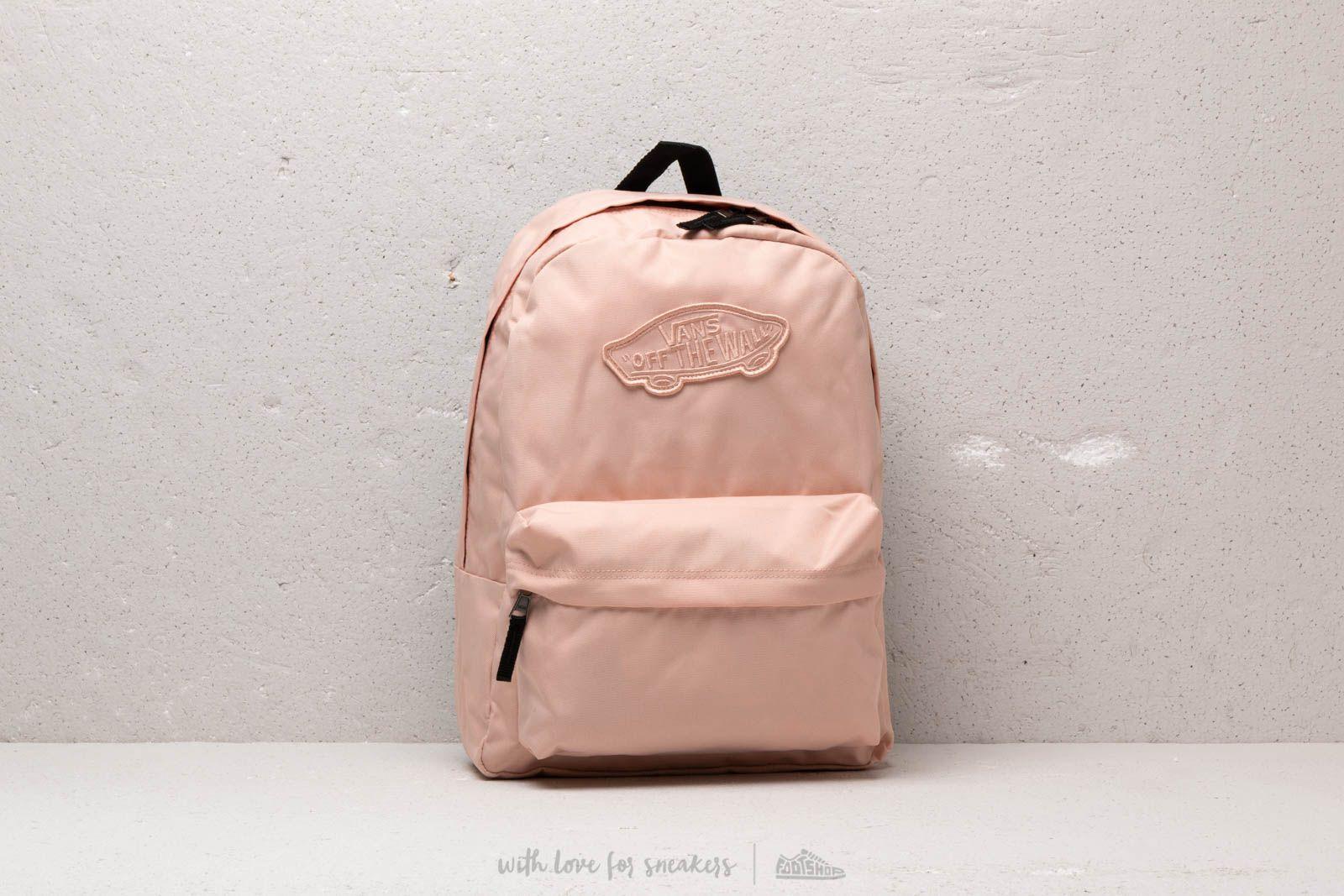 Vans Realm Backpack Rose Cloud   Footshop