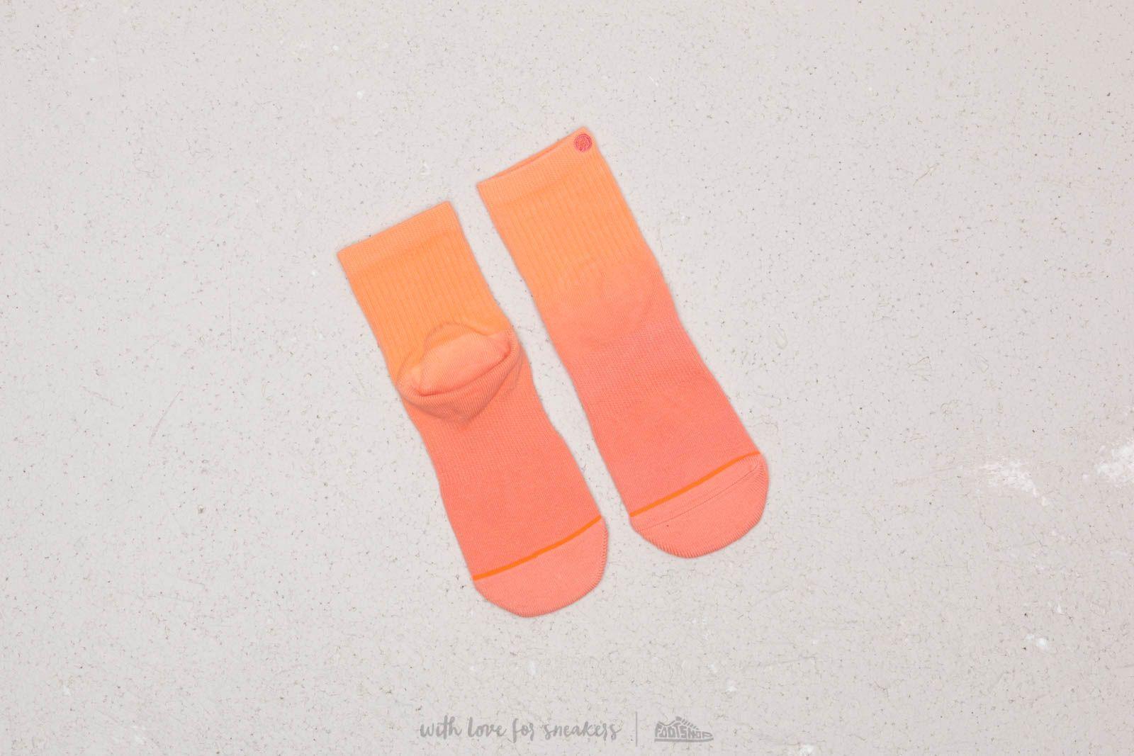 Stance Uncommon Dip Lowrider Socks Peach au meilleur prix 11 € Achetez sur Footshop