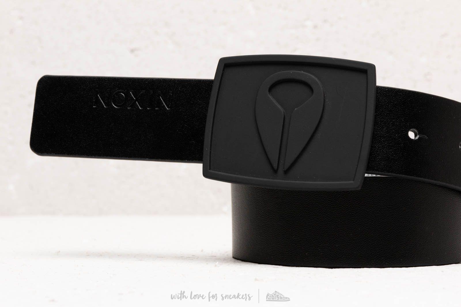 f93545cb08f9 Nixon Enamel Icon II Belt All Black au meilleur prix 22 € Achetez sur  Footshop