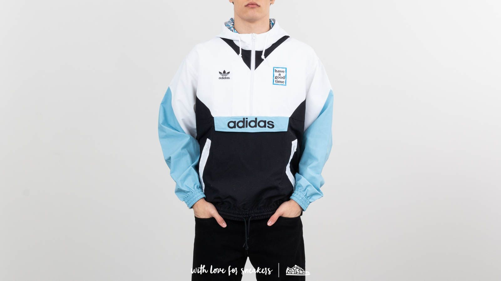 adidas x have a good time Pullover Windbraker