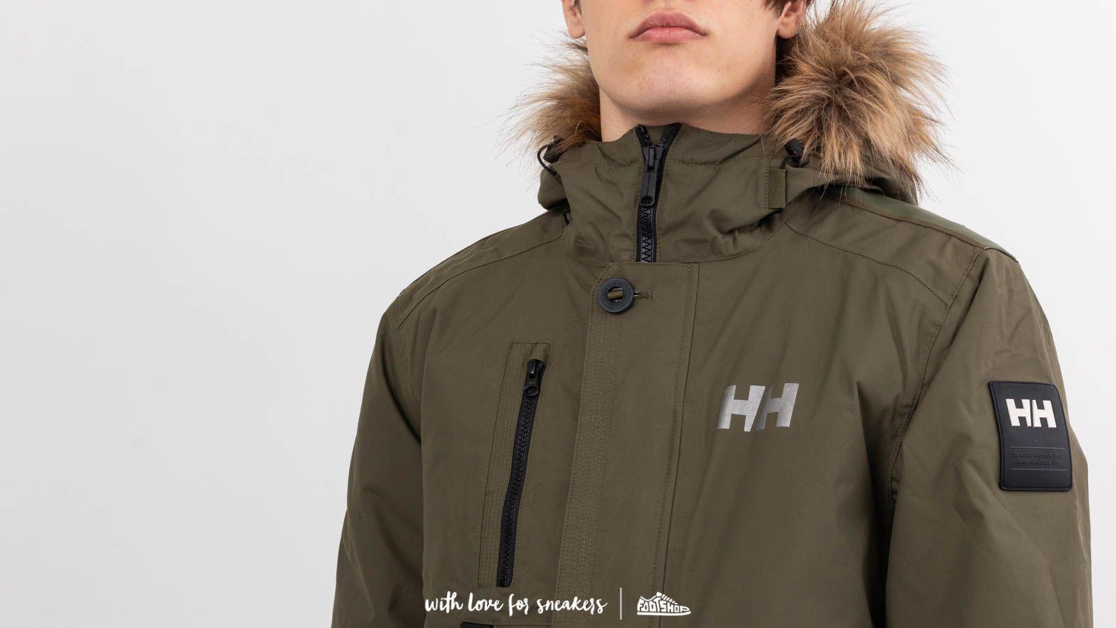 Helly Hansen Svalbard Parka Ivy Green au meilleur prix 202 € Achetez sur  Footshop 9a2a8179f47c