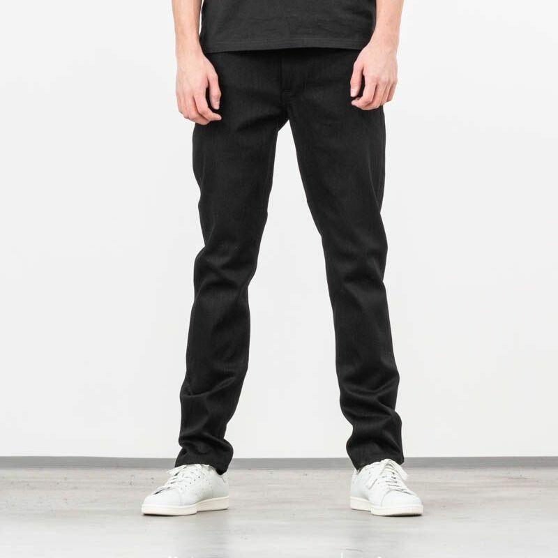 Nudie Jeans Lean Dean Jeans Dry Ever Black