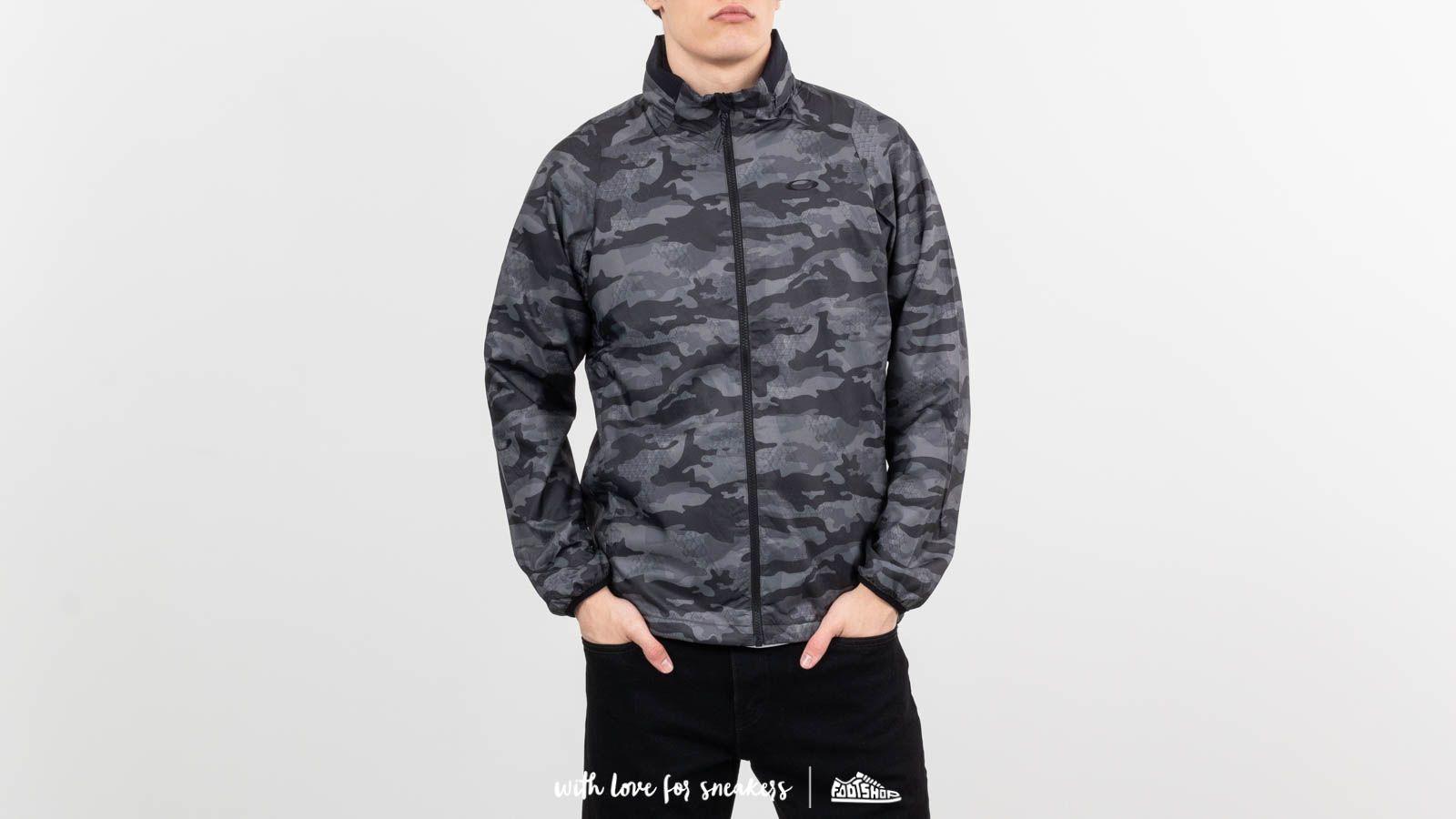 Bundy Oakley Enhance Graphic Wind Warm Jacket 8.7 Black Print