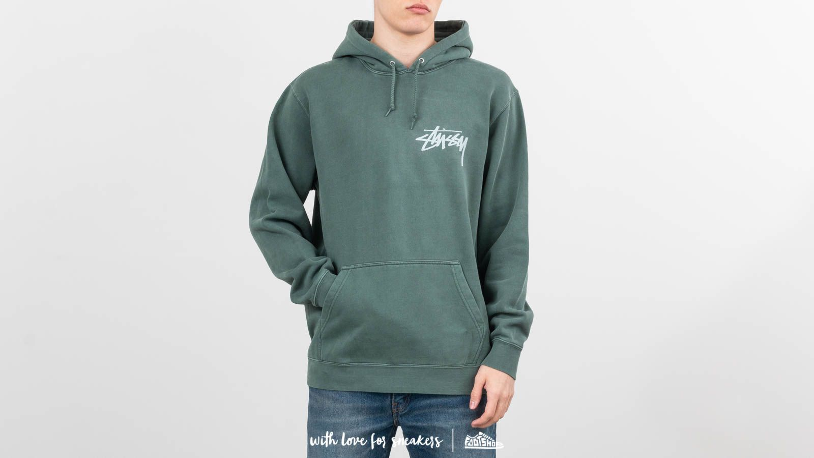 Stüssy Stoc Pig. Dyed Hoodie