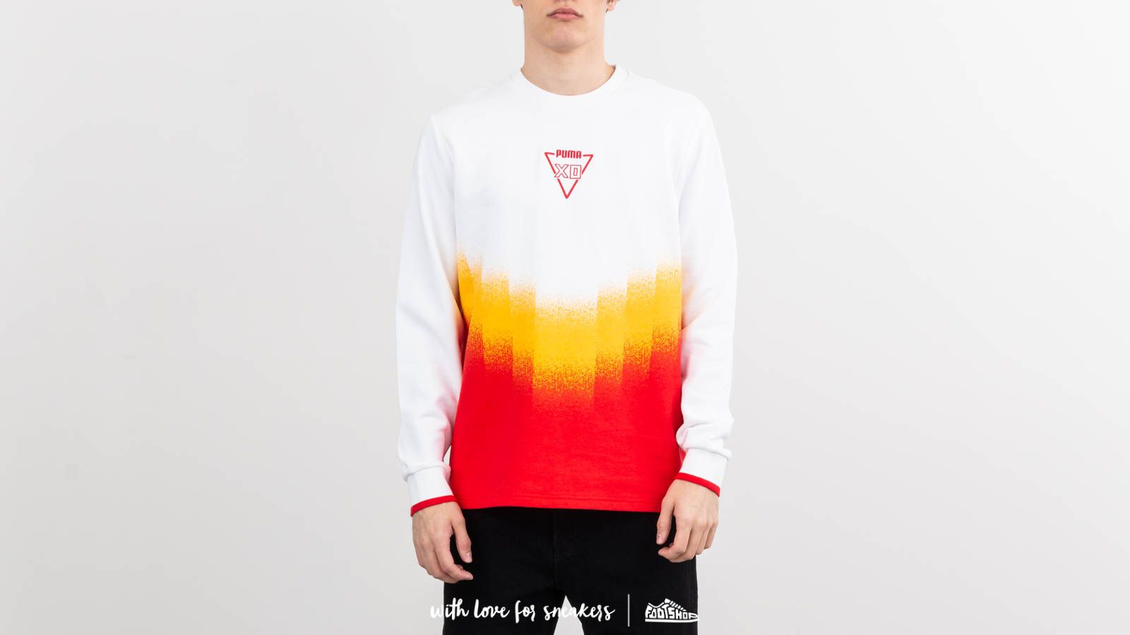 Puma x XO Homeage to the Archive Faded Crewneck Puma White