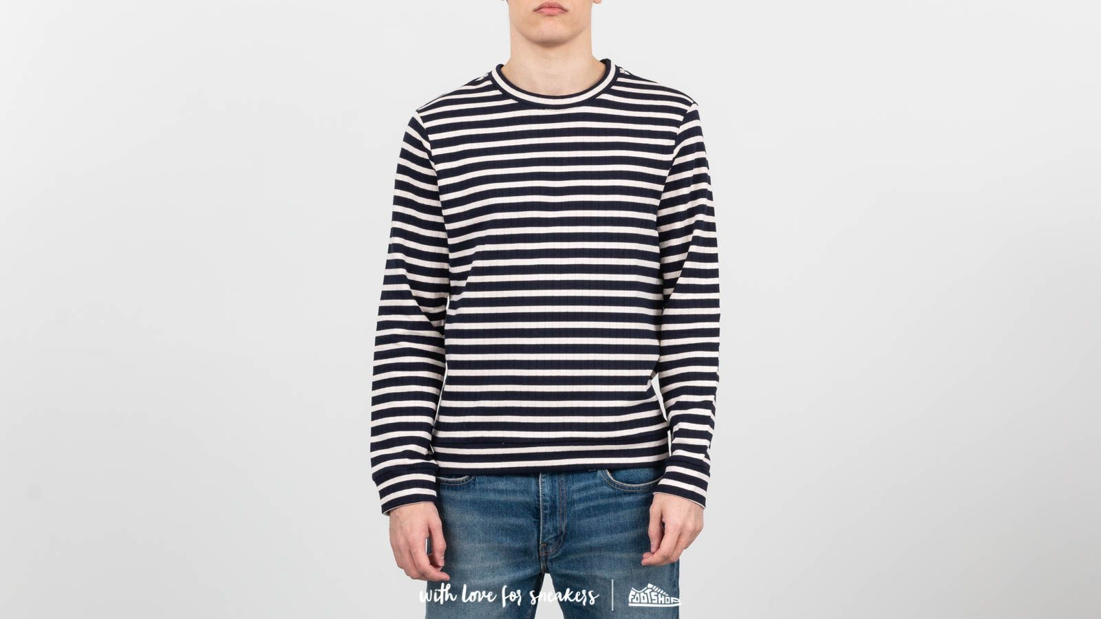 A.P.C. Mecano Ribbed Fleece Sweatshirt