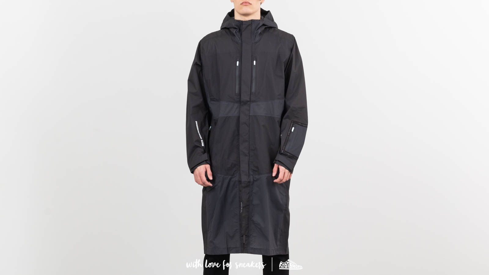 Raincoats adidas Terrex WM 3L Jacket Black