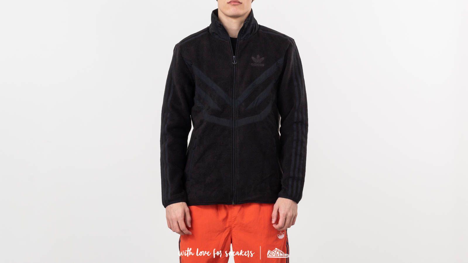 adidas Polar Fleece Track Jacket Black at a great price 240 лв купете в Footshop
