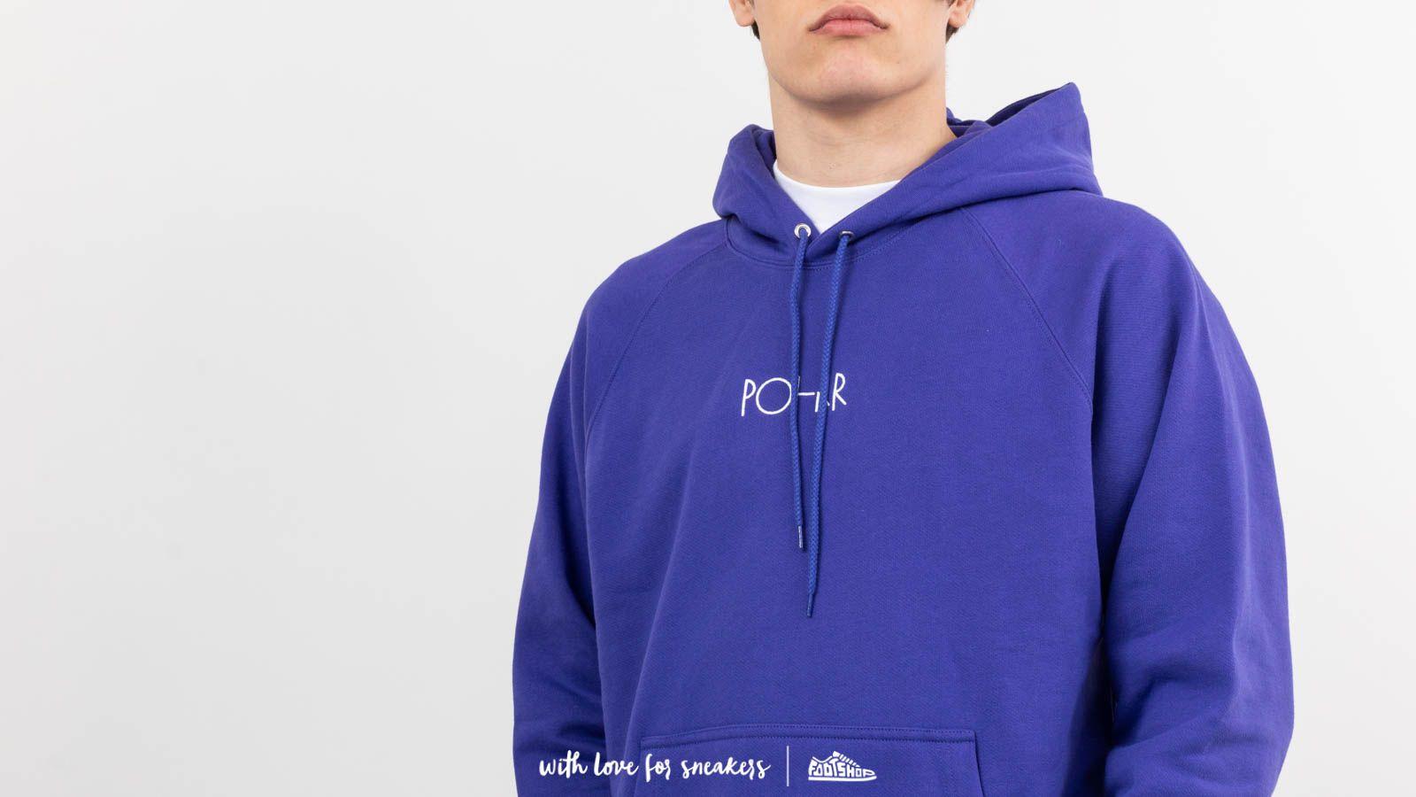 Polar Skate Co. Default Hoodie Deep Purple | Footshop