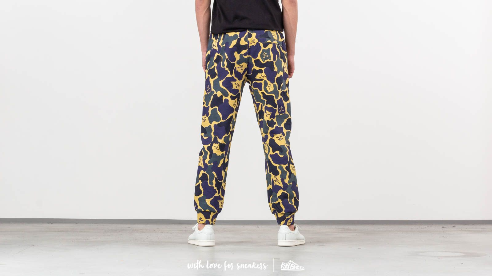 1579467ca81f RIPNDIP Nerm Camo Track Pants Plum Camo at a great price 102 € buy at  Footshop