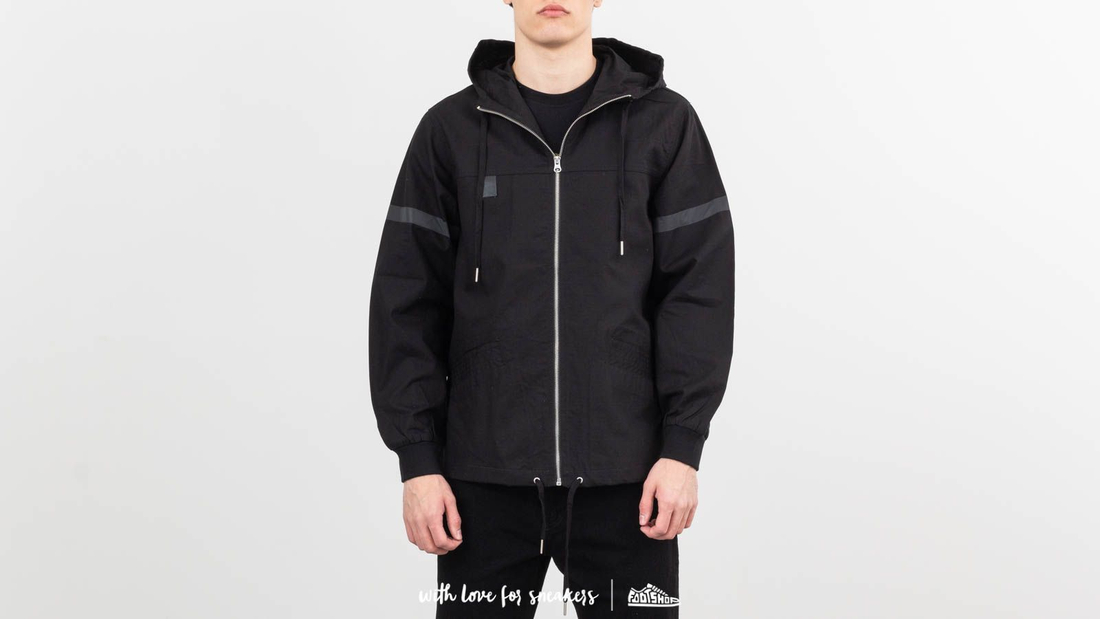 RIPNDIP Inferno Fisherman Jacket Black at a great price 206 лв купете в Footshop