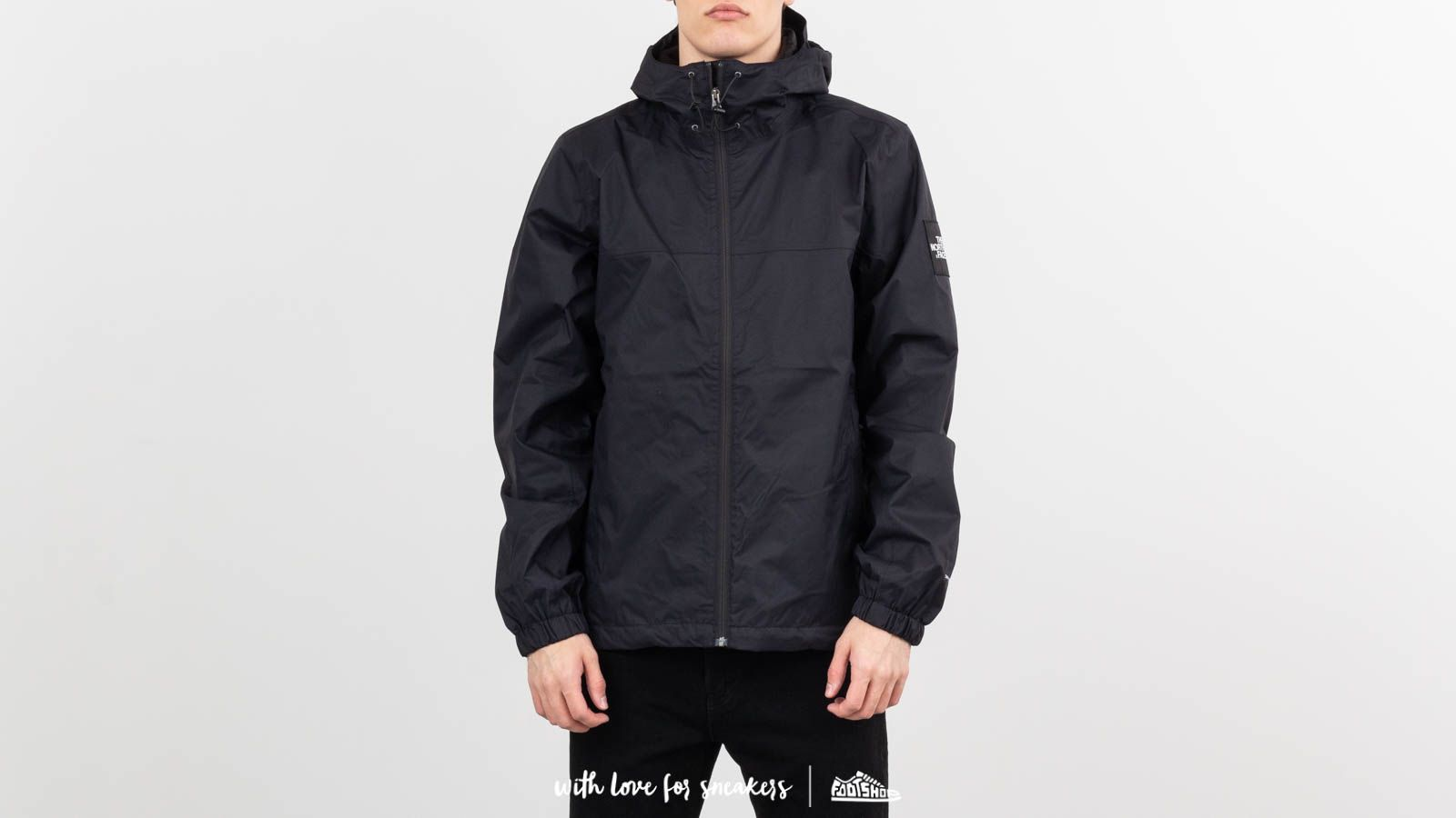 The North Face Moutain Q Jacket Black/ White