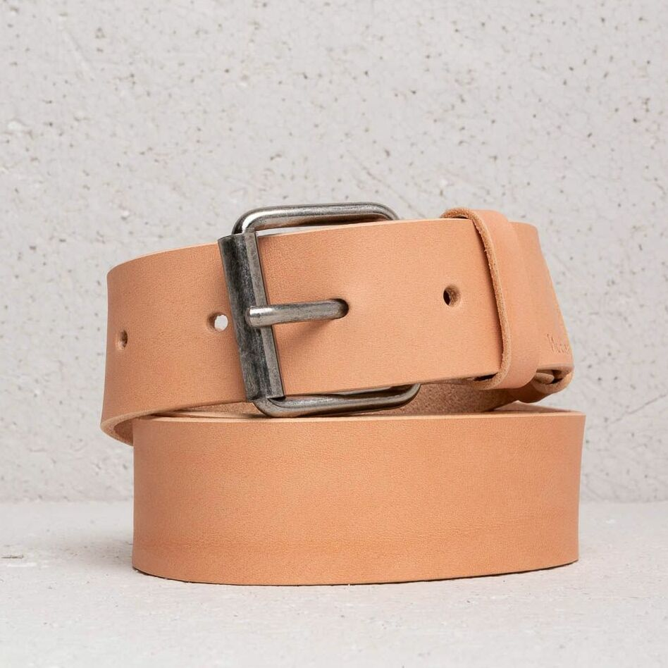 Nudie Jeans Pedersson Leather Belt Natural, Brown