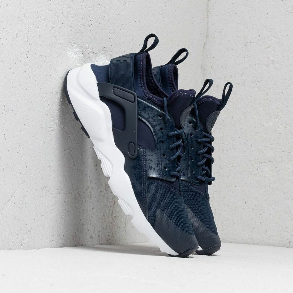 Nike Air Huarache Run Ultra Gs Obsidian/ Obsidian-White EUR 39