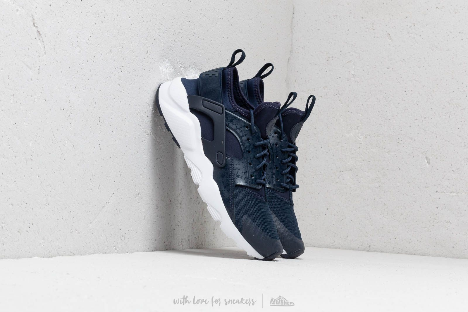a9c8e5fff7a0d Nike Air Huarache Run Ultra Gs Obsidian  Obsidian-White at a great price 99