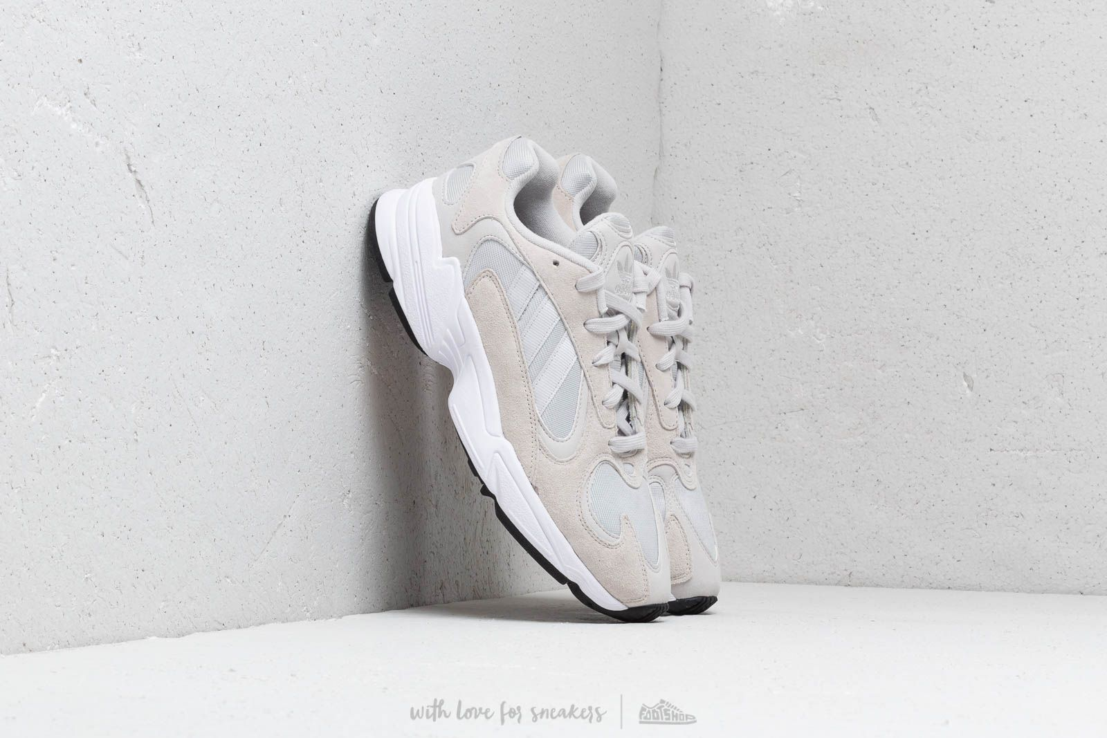 adidas Yung 1 Grey One Grey One Ftw White | Footshop