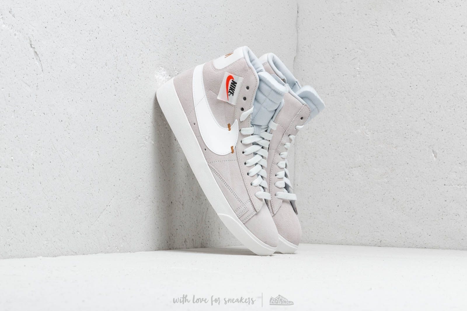 Nike Blazer Mid Rebel Wmns Off White/ Summit White-Pure Platinum ...