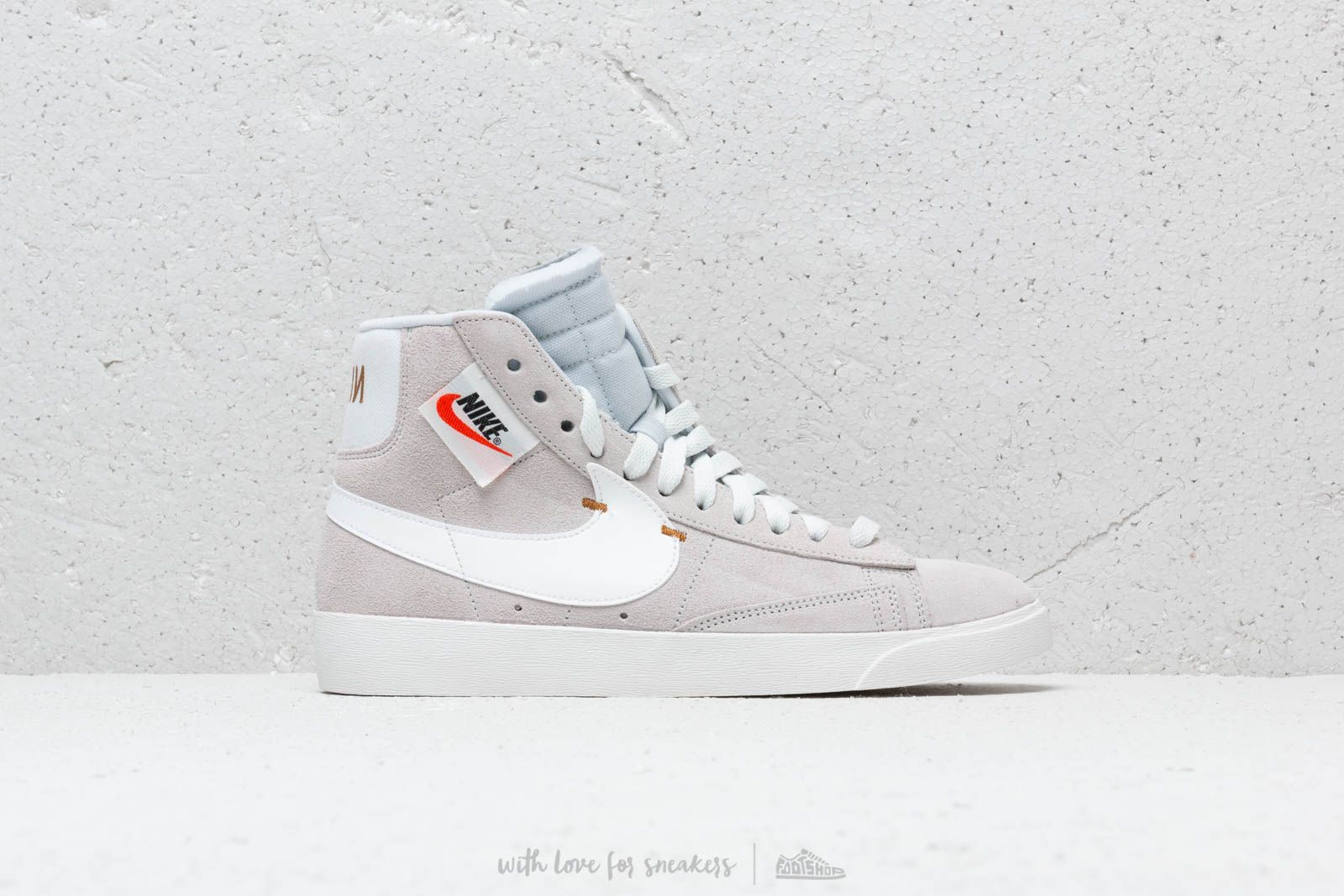 Nike WMNS Blazer Rebel Mid 'Off White' Damen