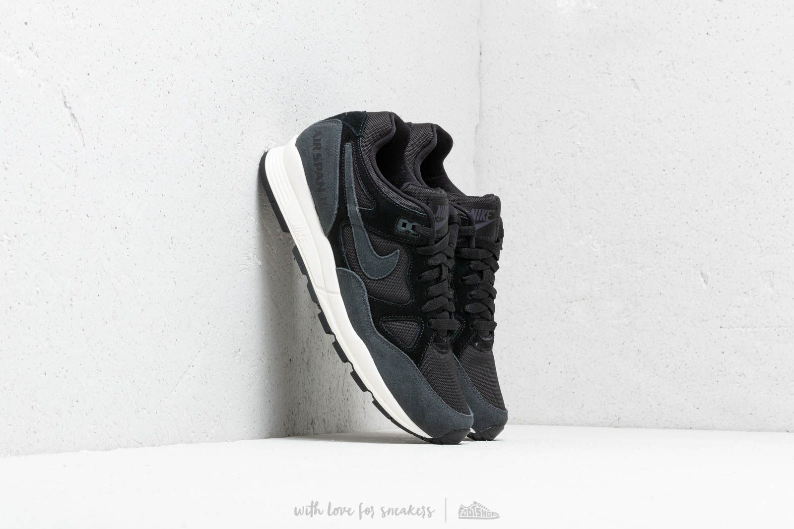 reputable site f1801 36035 Nike Air Span II Se Sp19 Black  Anthracite-Pale Ivory at a great price