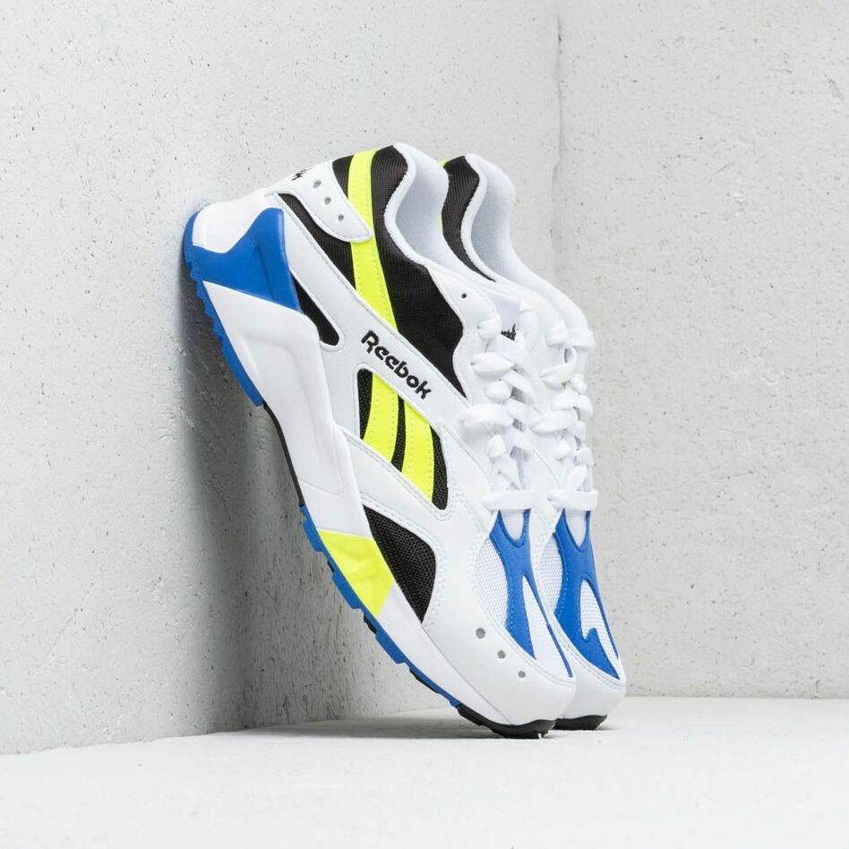 Reebok Aztrek White/ Black/ Cobalt/ Yellow EUR 45.5