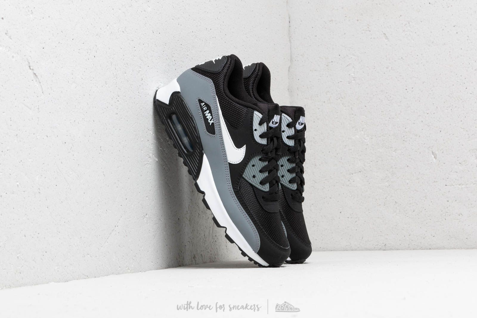 Nike Air Max 90 Essential Black White Cool Grey Anthracite