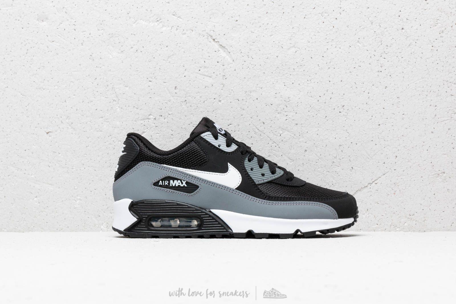 Air Max 90 Essential BlackWolf GreyAnthraciteBla | Mens Nike Classic