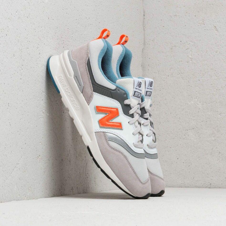 New Balance 997 White/ Orange/ Grey EUR 41.5