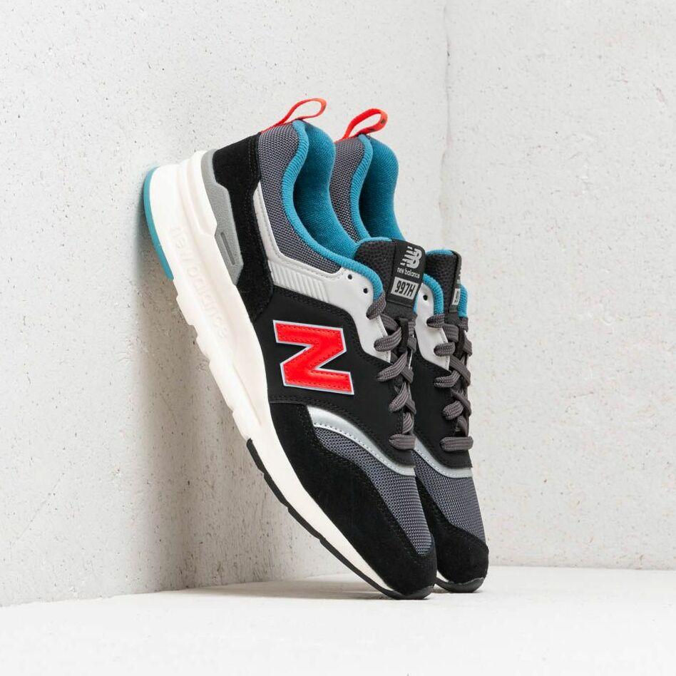 New Balance 997 Black/ Red/ Grey/ White EUR 46
