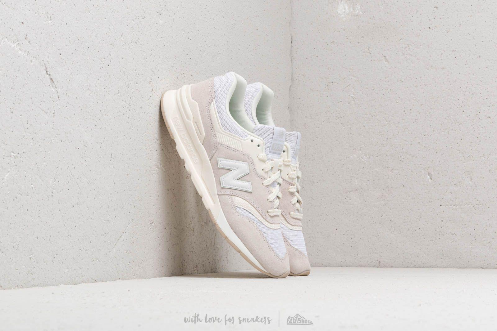 Pánské tenisky a boty New Balance 997 White