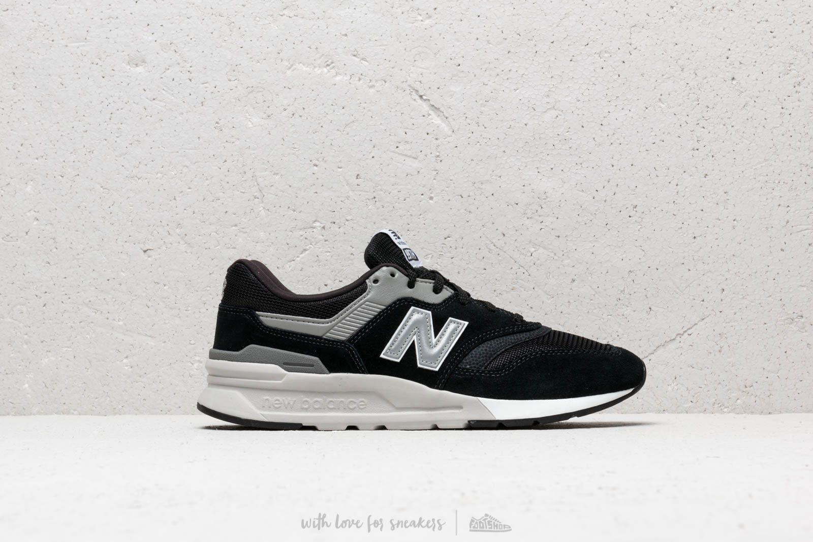check out 93f90 711f8 New Balance 997 Black/ Grey/ White | Footshop