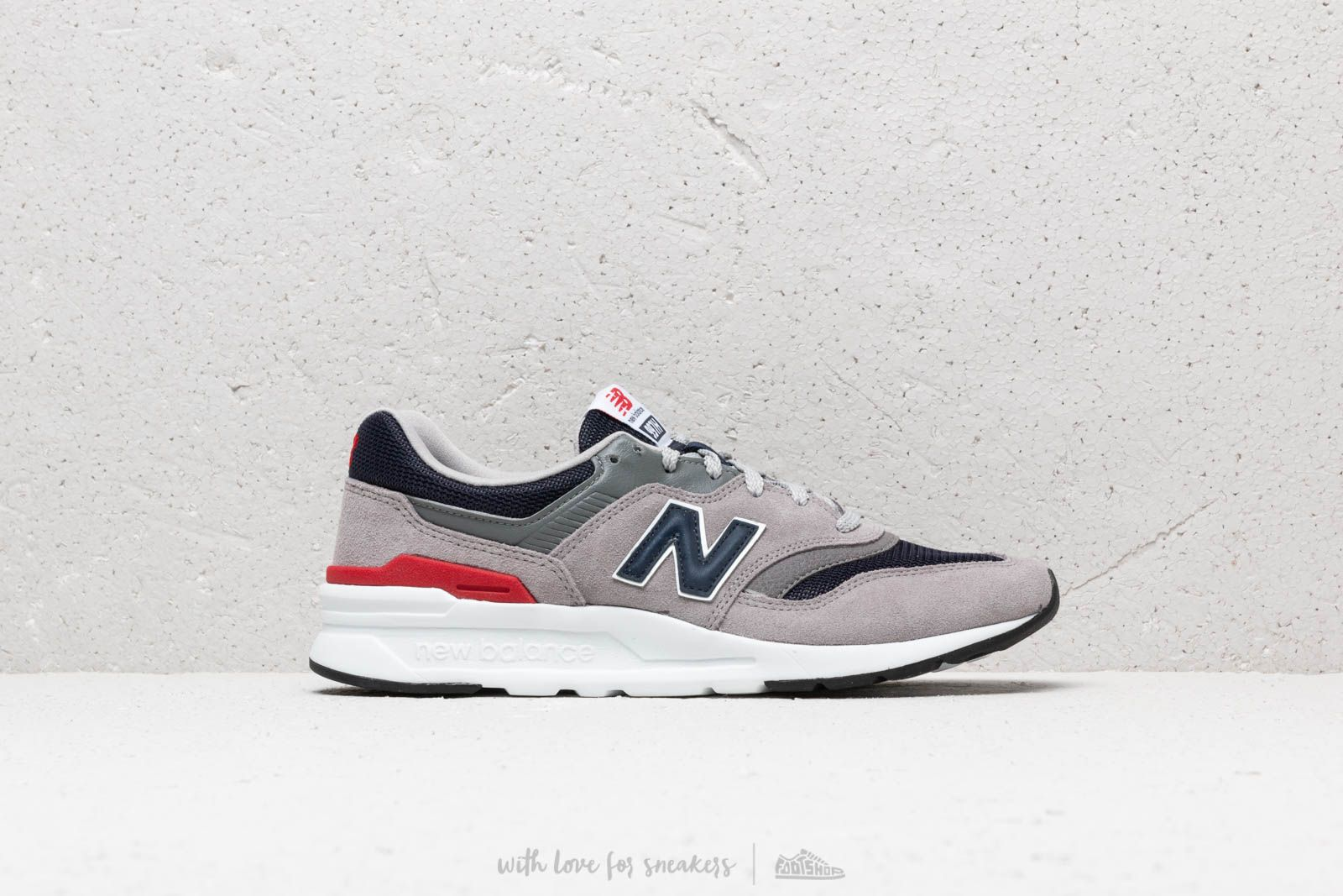 new balance 997 navy blue