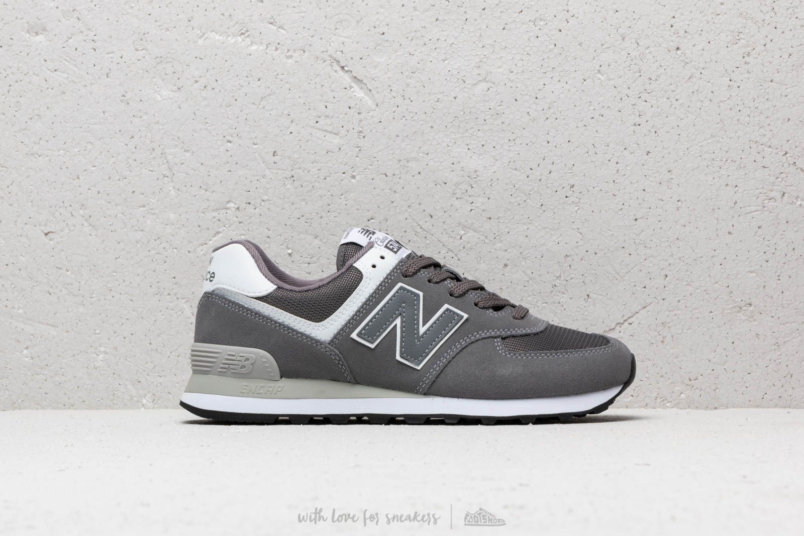 f106a74b160e0 New Balance 574 Grey/ White at a great price £74 buy at Footshop