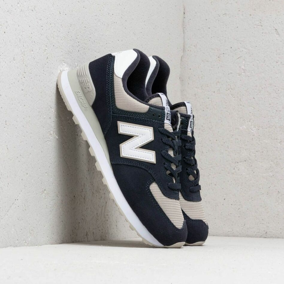 New Balance 574 Navy/ Beige/ White EUR 45