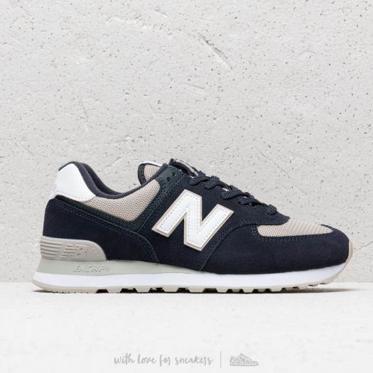 promo code 84bd7 8f61a New Balance 574 Navy/ Beige/ White | Footshop