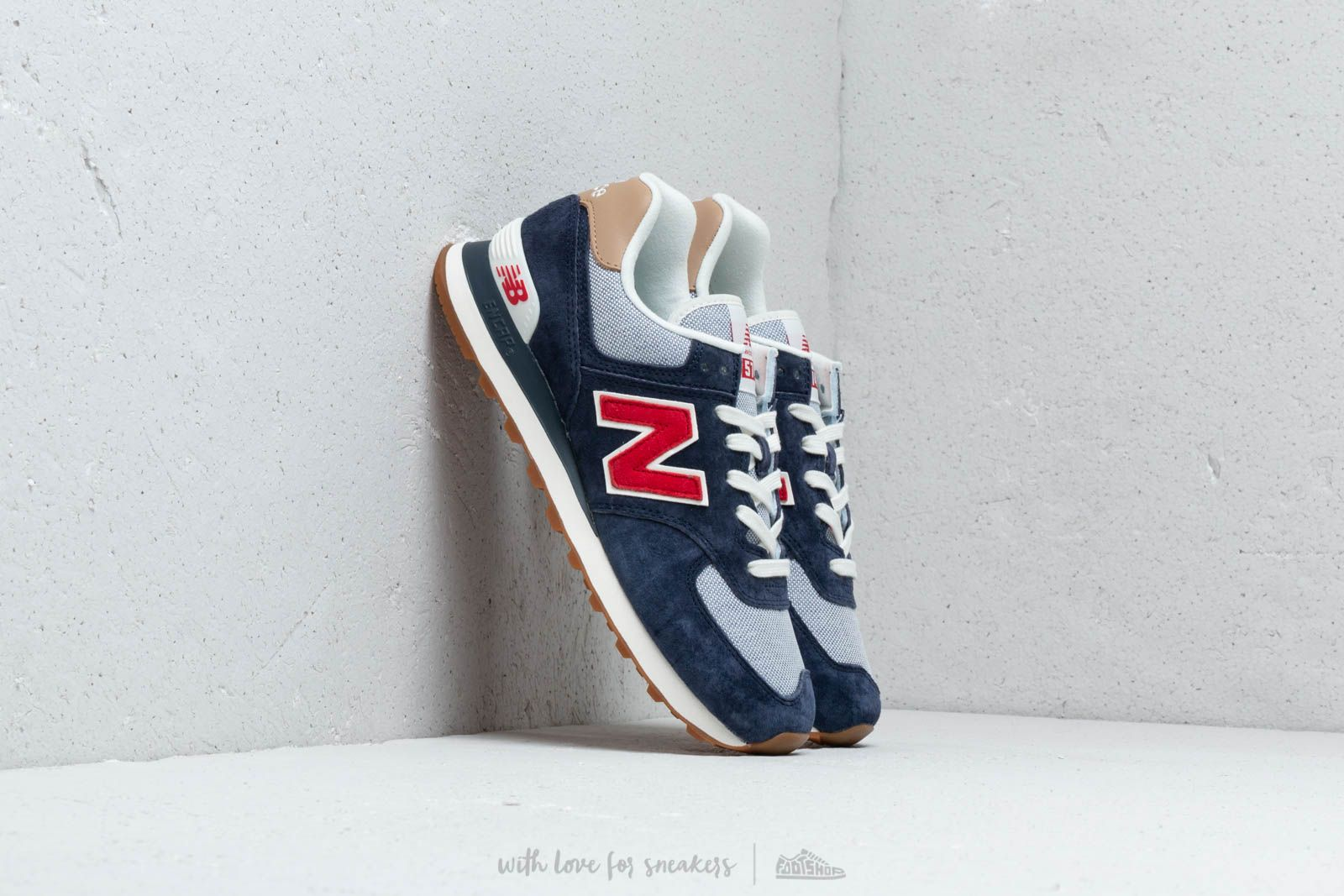 c9b154a2 New Balance 574 Navy/ Red/ White | Footshop