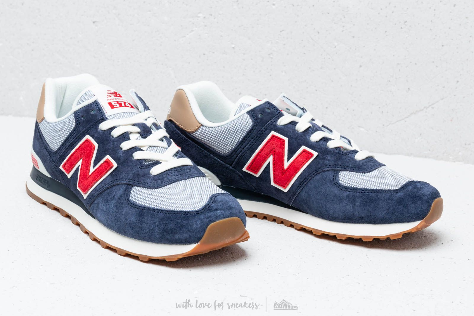 New Balance 574 Navy  Red  White at a great price 88 € buy at 586edef33795