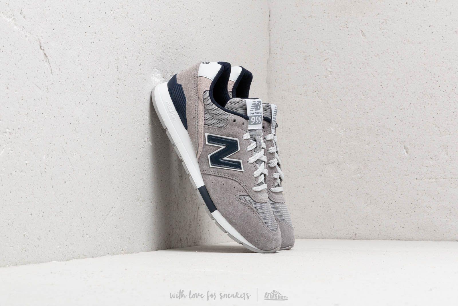 New Balance 996 Grey/ Navy/ White at a great price 103 € buy at Footshop