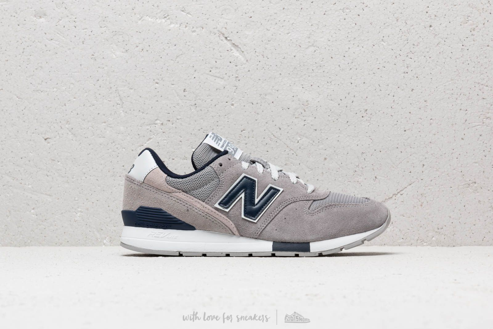 fff75218b2bb6 New Balance 996 Grey/ Navy/ White at a great price 103 € buy at