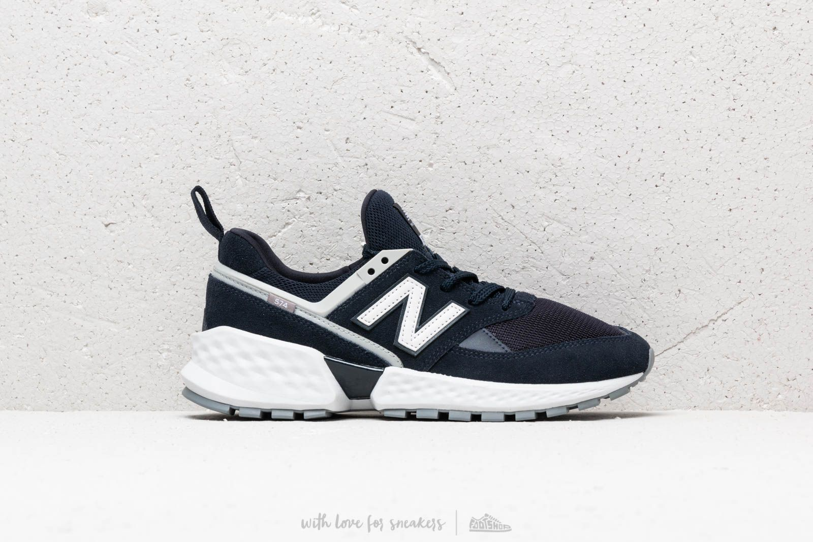 New Balance 574 Blue White Footshop 00r6Apx
