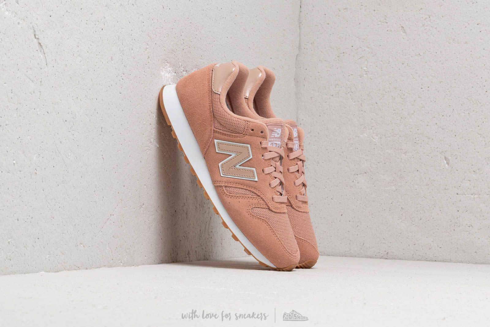 Dámské tenisky a boty New Balance 373 Pink/ White