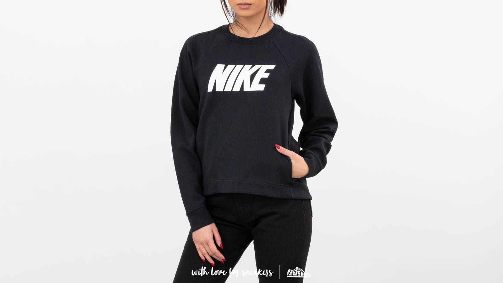 Crewneck Nike Sportswear BlackFootshop Optic Nike Optic Sportswear uTKJ3Fl1c
