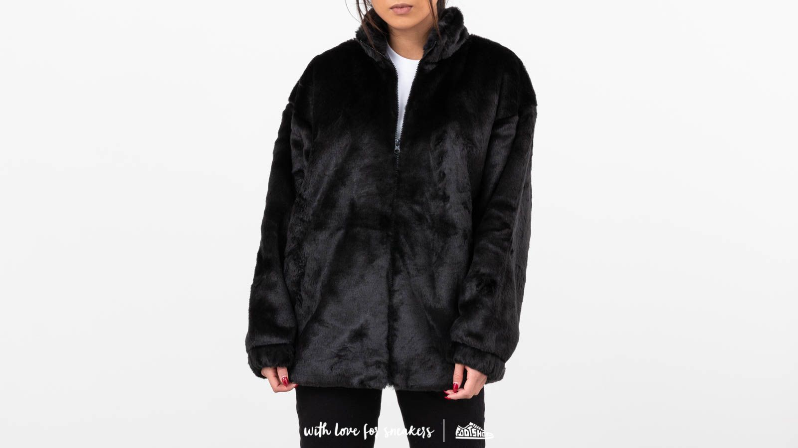 f24602ae0 adidas Fur Jacket Black | Footshop