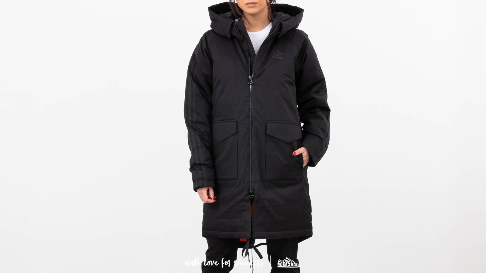 adidas Down Parka Black at a great price 137 € bestell bei Footshop