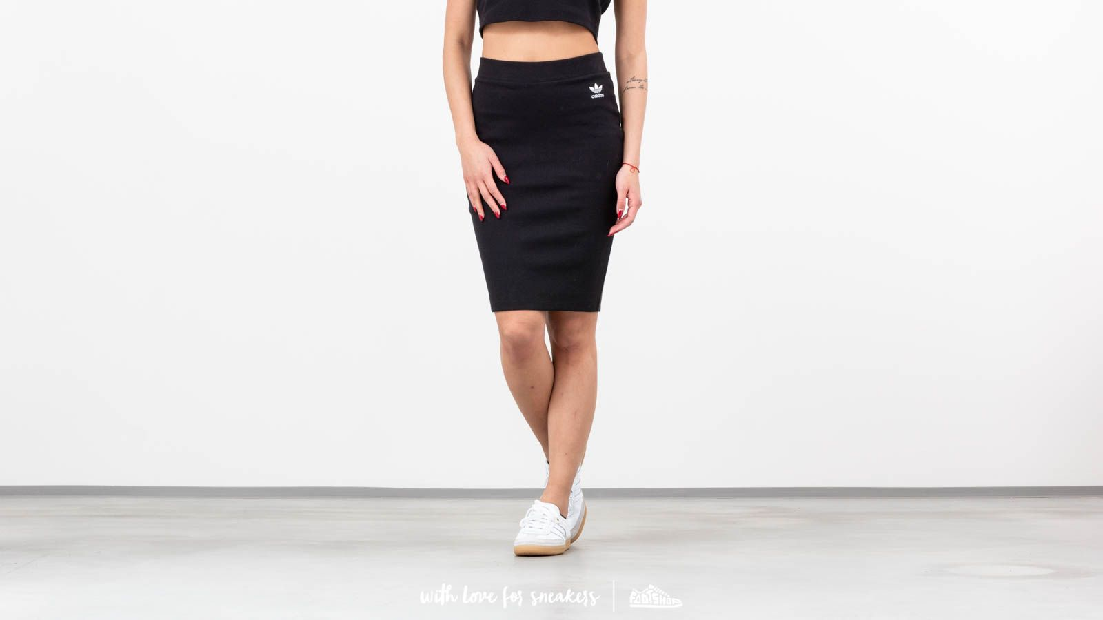9700df8f49 adidas Styling Complements Midi Skirt Black at a great price 46 € bestell  bei Footshop