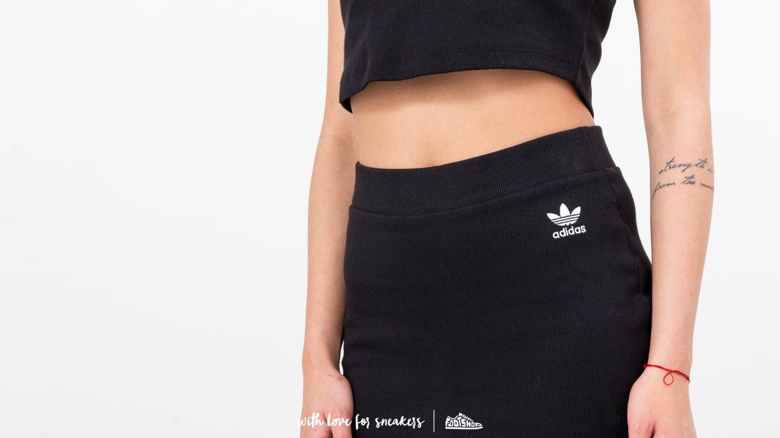 c09c9413c7d1 adidas Styling Complements Midi Skirt Black za skvělou cenu 1 240 Kč  koupíte na Footshop.