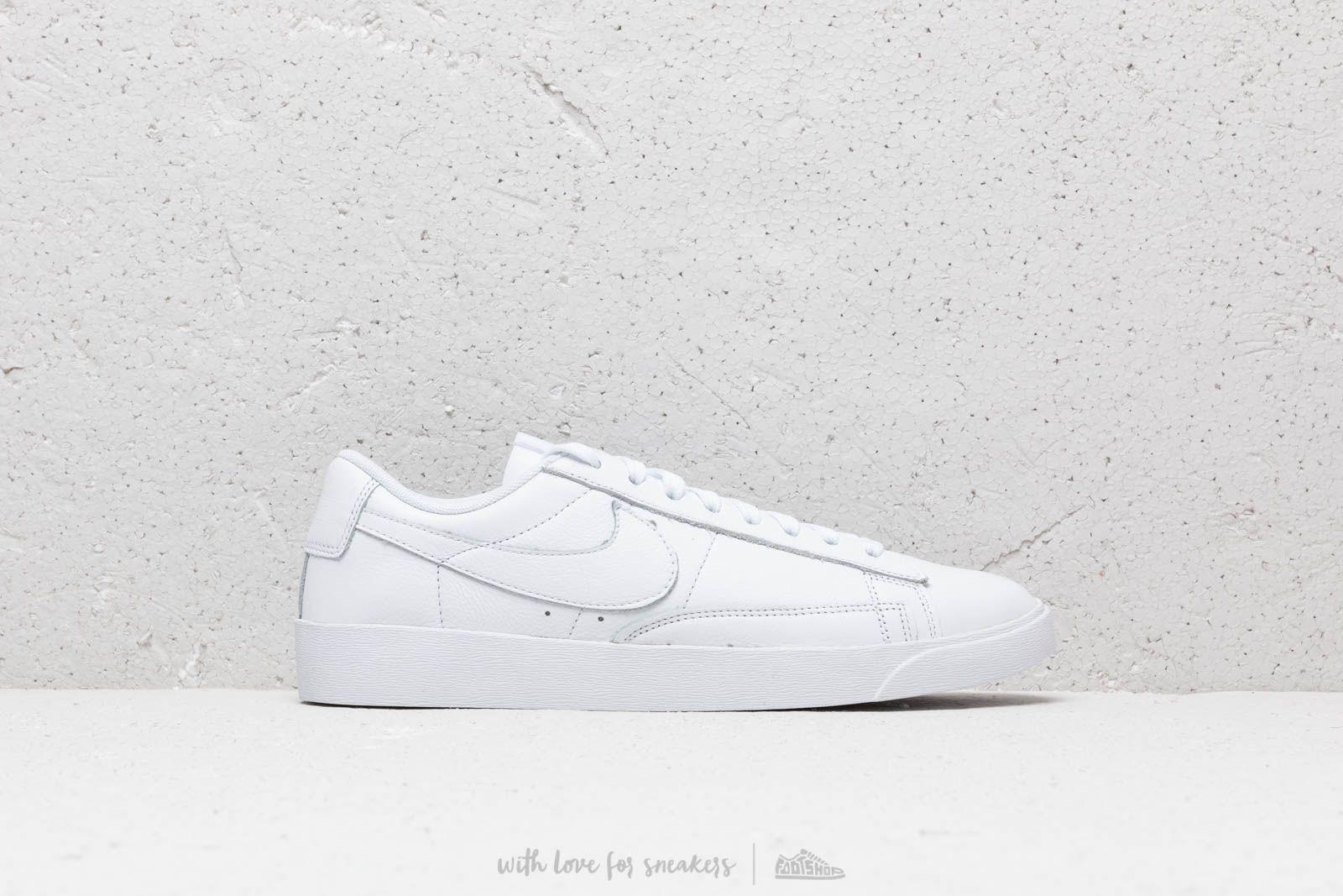 Nike W Blazer Low Le White/ White-White