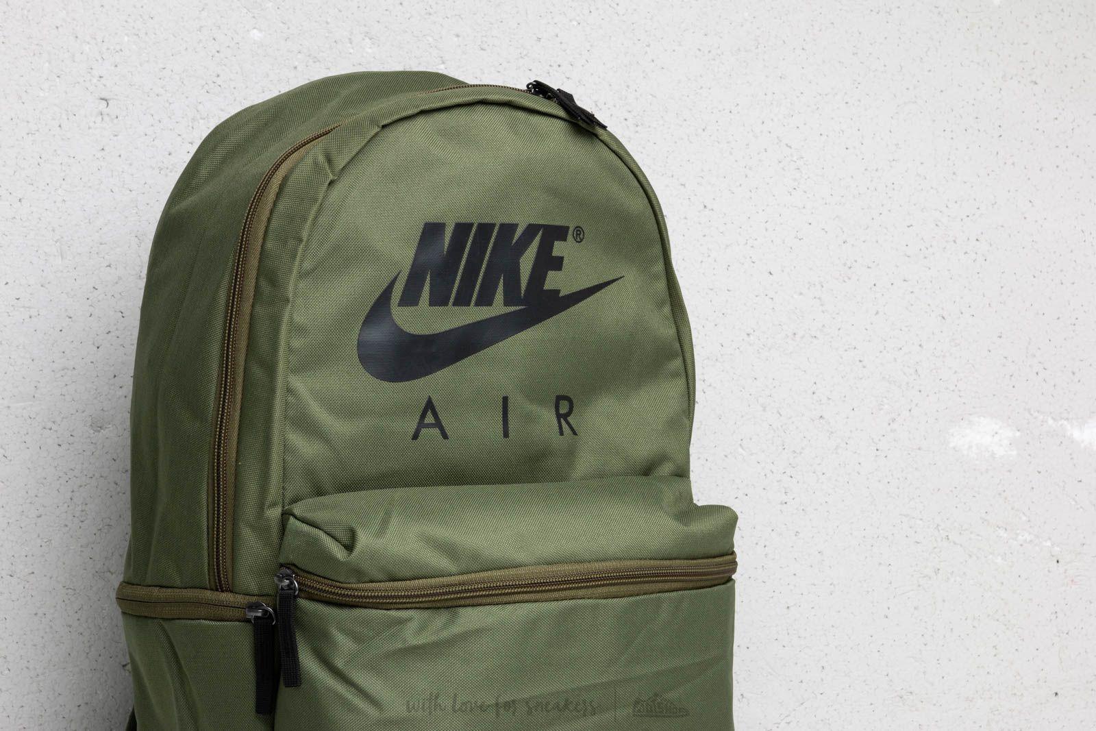 Nike Air Backpack Olive Green   Footshop