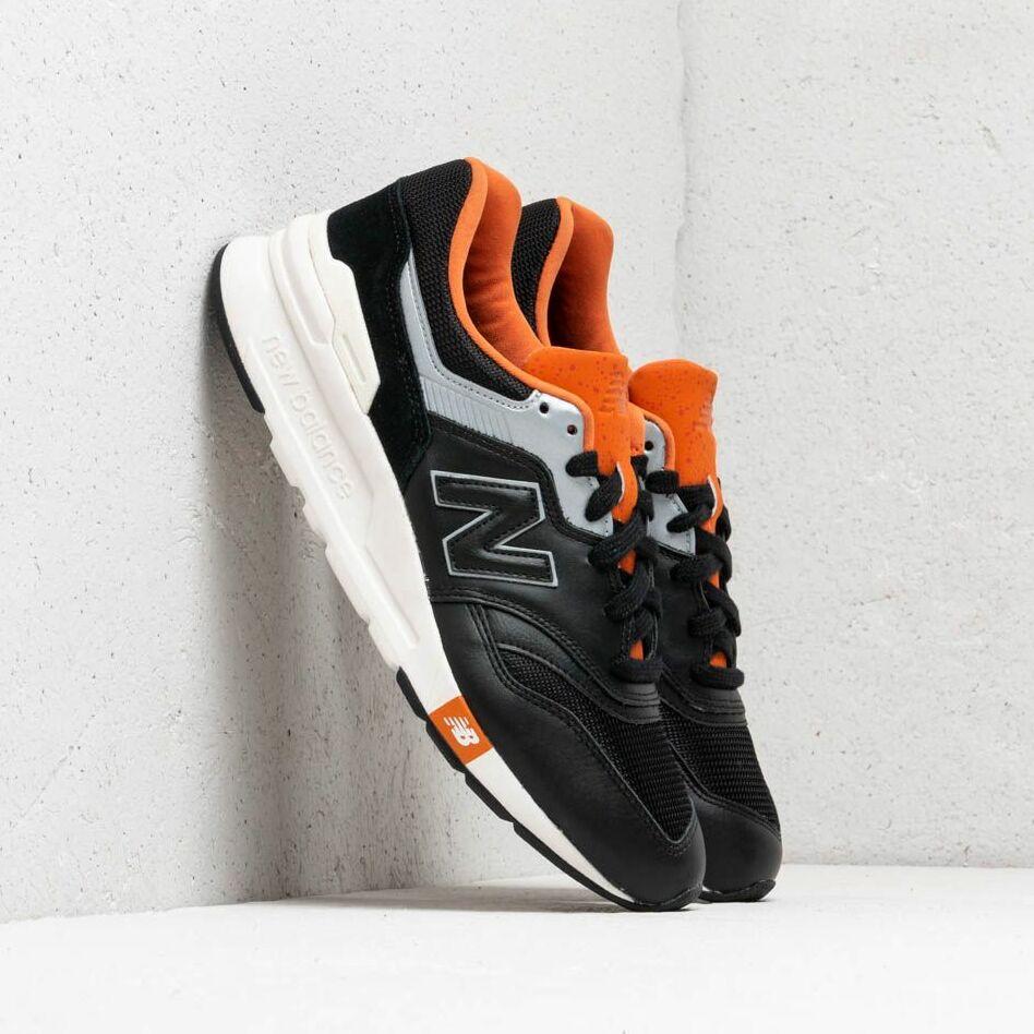 New Balance 997 Black/ Orange/ Grey EUR 42.5