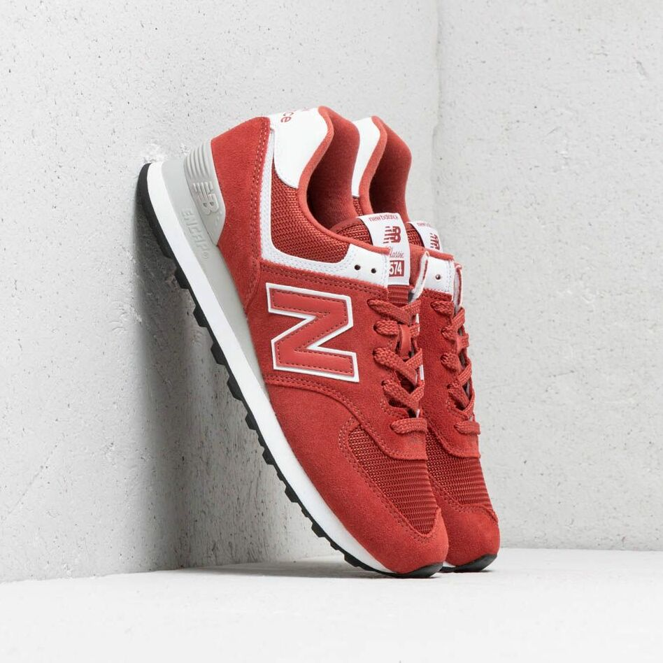 New Balance 574 Red/ White EUR 46